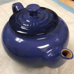 Le Creuset ceramic teapot excellent condition